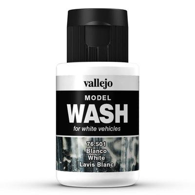 76.501 White - Vallejo Model Wash