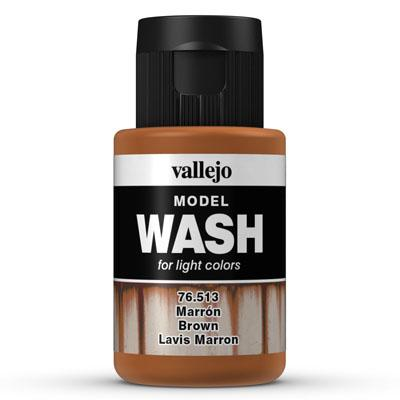 76.513 Brown- Vallejo Model Wash - Supernova Studio