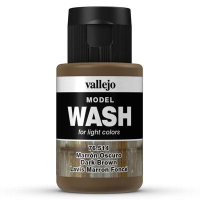 76.514 Dark Brown- Vallejo Model Wash - Supernova Studio