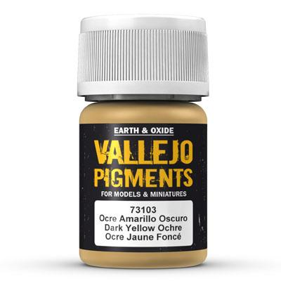 73.103 Dark Yellow Ocre - Vallejo Pigment