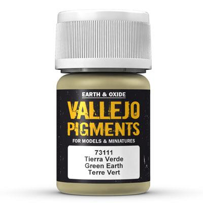 73.111 Green Earth - Vallejo Pigment