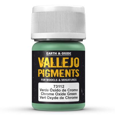73.112 Chrome Oxide Green - Vallejo Pigment - Supernova Studio