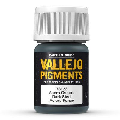 73.123 Dark Steel - Vallejo Pigment