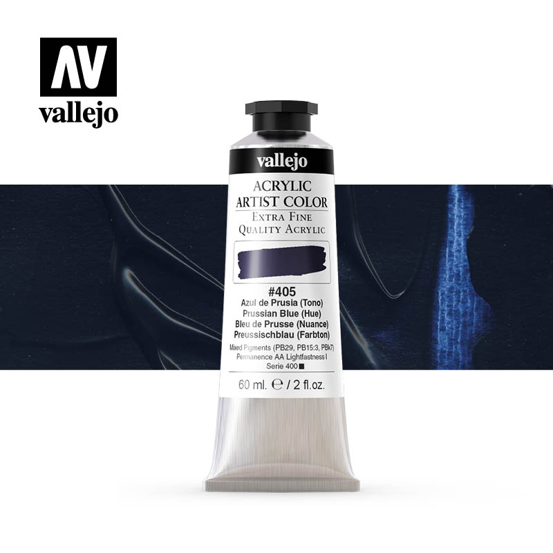 16.405 - Acrylic Artist Color - Prussian Blue (Hue) - 60 ml