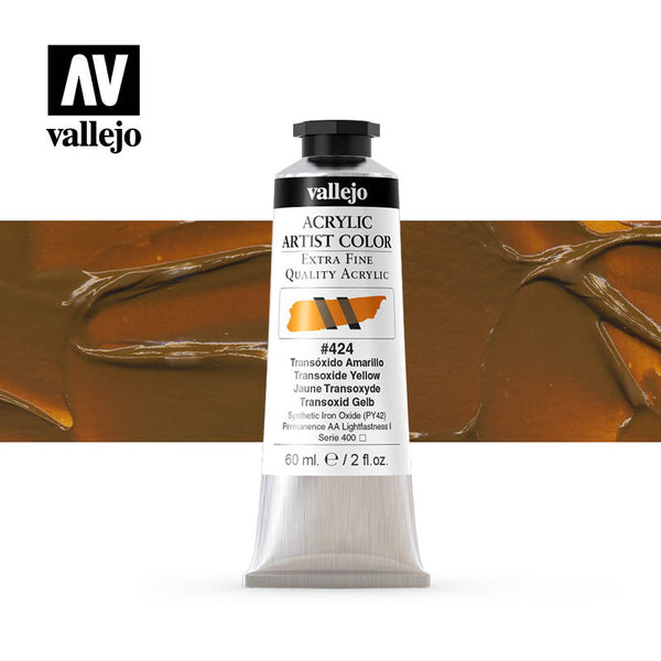 16.424 - Acrylic Artist Color - Transoxide Yellow - 60 ml