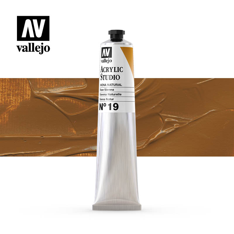 21.019 - Raw Sienna - Acrylic Studio - 58 ml