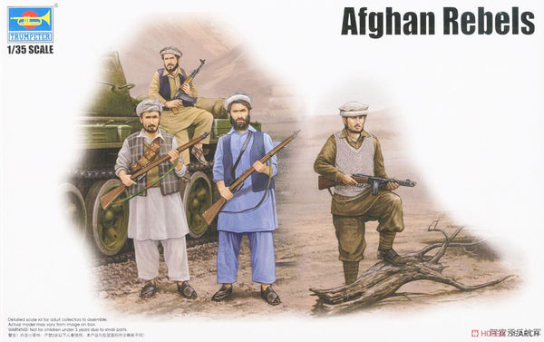 00436 - Trumpeter Afghan Rebels Figure Set (4 Figures)