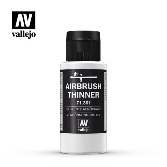 71.361 Airbrush Thinner - 60 ml - Auxiliary