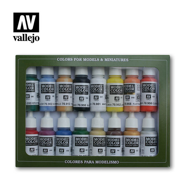 70.140 - Model Color Set - Basic Colors USA (16 colors)