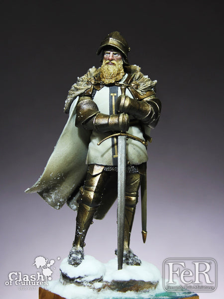 COC00008 - Knight of the Teutonic Order, 1460 (Scale 75 mm)