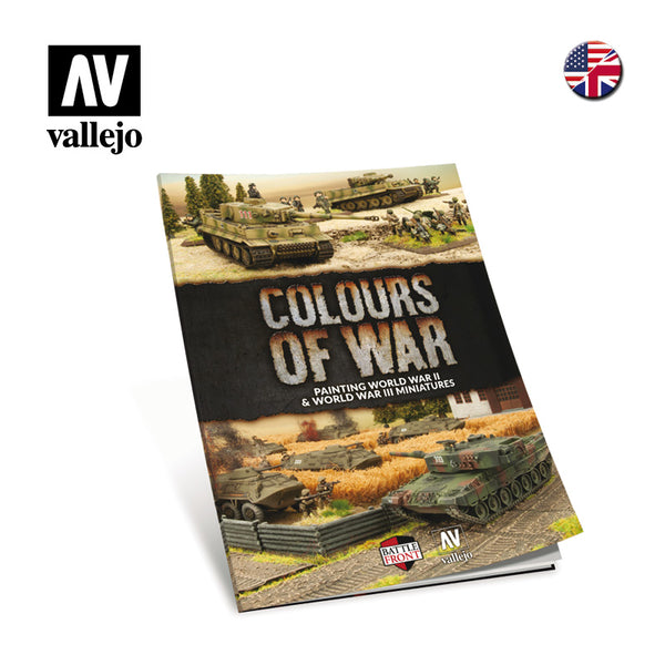 75.013 - Colours of War - Painting WWII & WWIII Miniatures