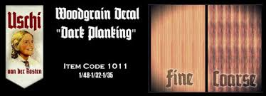 1011 - Dark Planking - DECALS