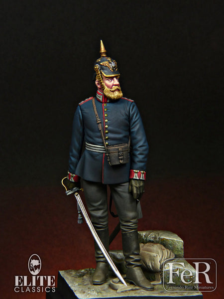 ELI00018 - Prussian Foot Guard Hauptmann, 1870