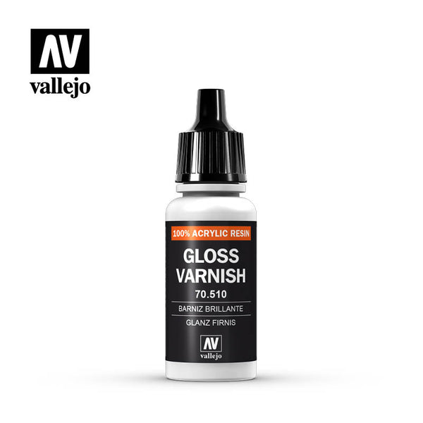70.510 Permanent Gloss Varnish - Vallejo Model Color