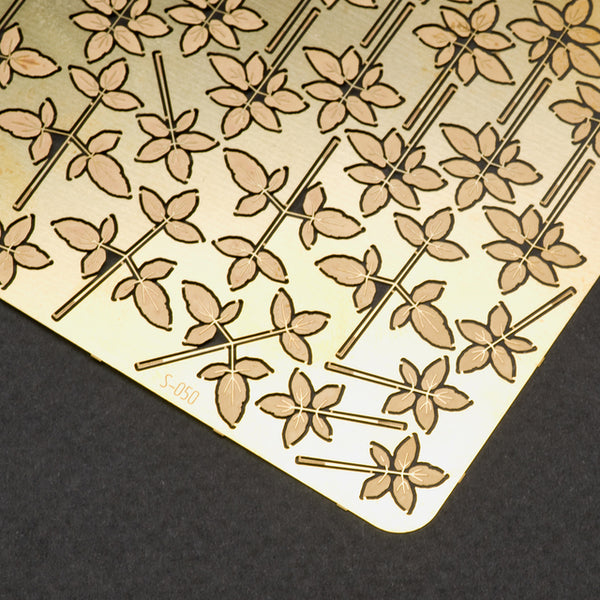 S-050 - Goutweed - Photo Etch set - Size M - 70 x 100 mm