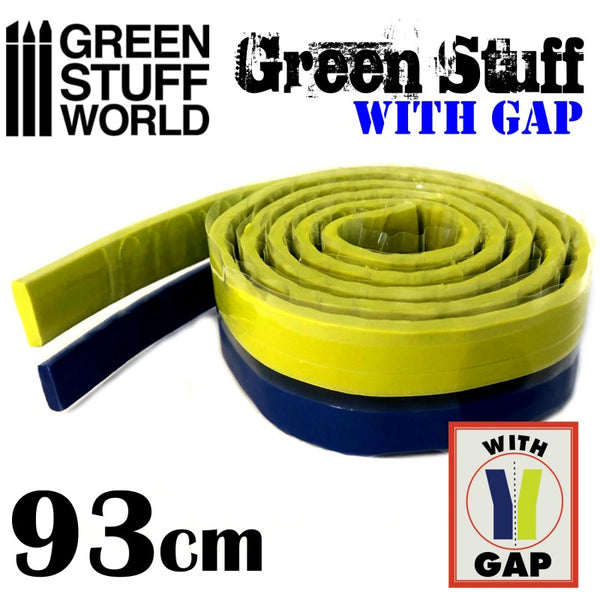 Green Stuff Tape 93 CM (36.5 Inch) Epoxy Putty