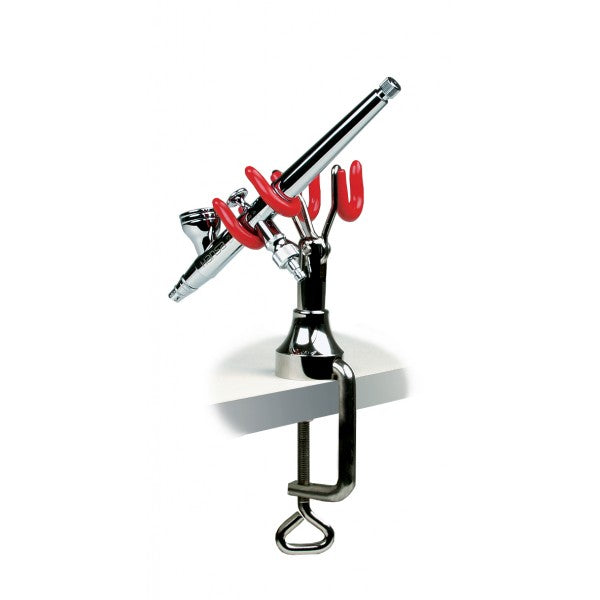 270200 - Airbrush Holder Duo For 2 Airbrushes, with table bracket - Harder & Steenbeck