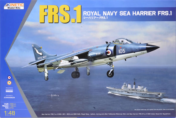 KIN48035 - Kinetic 1/48 British Royal Navy FRS.1 Sea Harrier