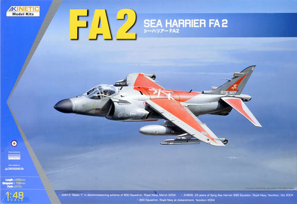 KIN48041 - Kinetic 1/48 British Royal Navy FA.2 Sea Harrier