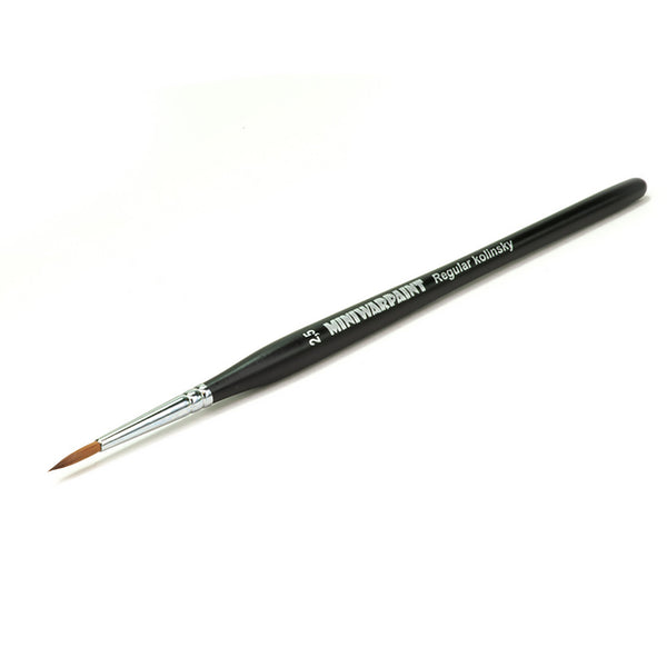 T-005 - Brush Mini War Paint -  Kolinsky Brush No. 2,5
