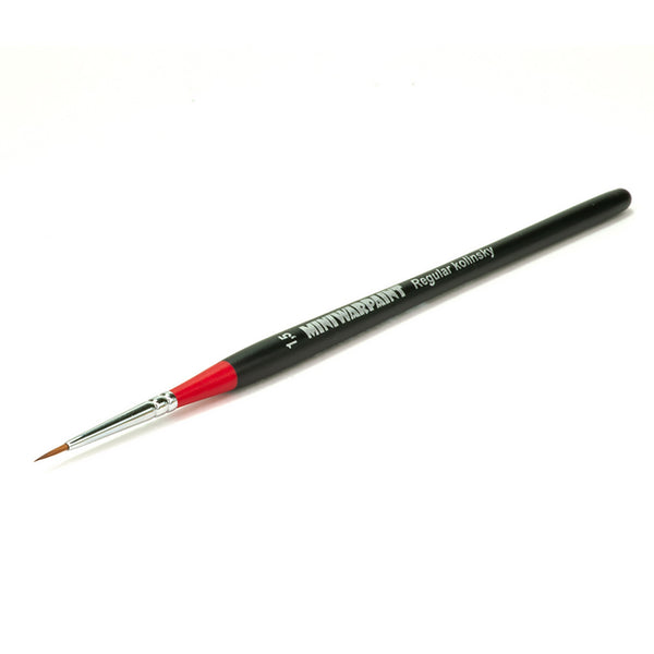 T-003 - Brush Mini War Paint -  Kolinsky Brush No. 1,5