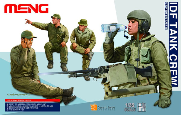 MHS002 - Israel Defense Force Modern Tank Crew ( 4 Figures )