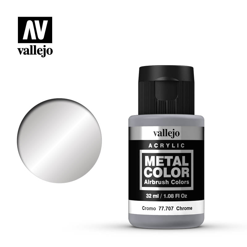 77.707  Chrome  - Vallejo Metal Color