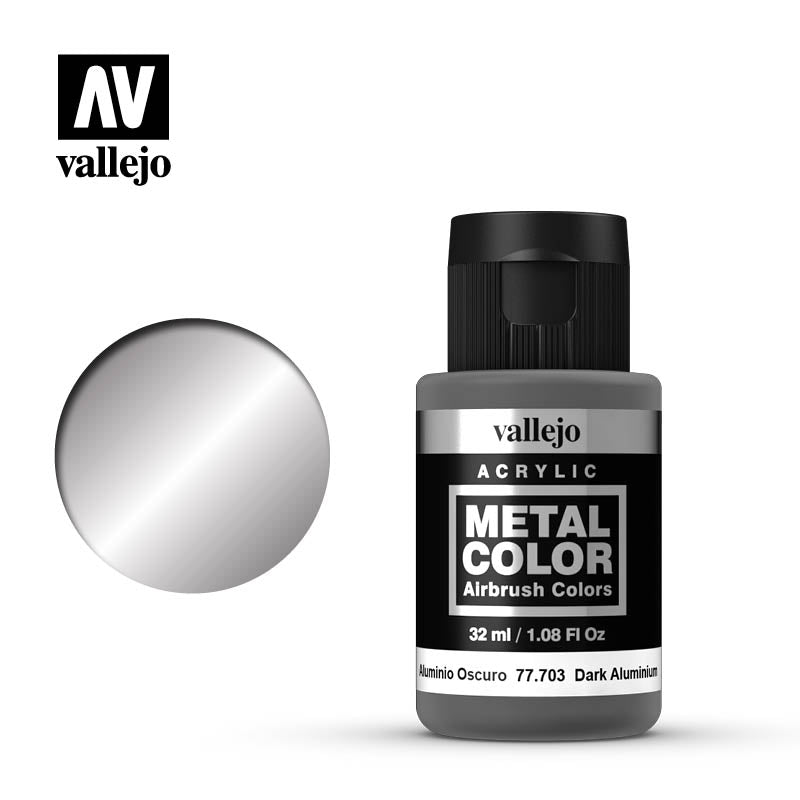 77.703  Dark Aluminium - Vallejo Metal Color