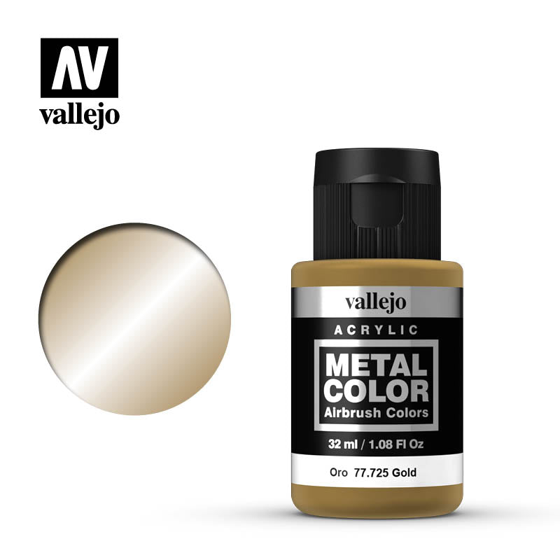 77.725 Gold  - Vallejo Metal Color