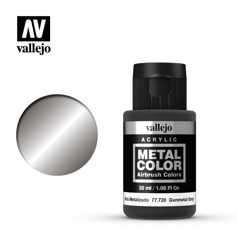 77.720 Gun Metal  - Vallejo Metal Color