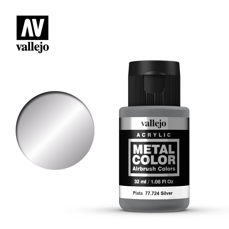 77.724 Silver  - Vallejo Metal Color