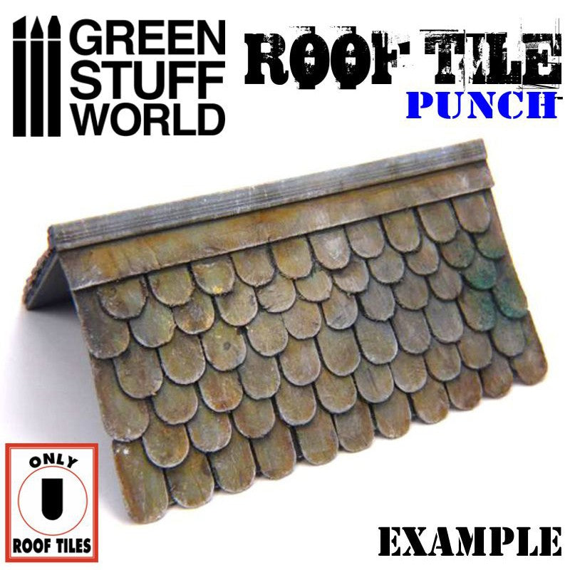 1417 - Roof Tile Punch 1:76 1:48 1:43 1:35 1:30 1:22