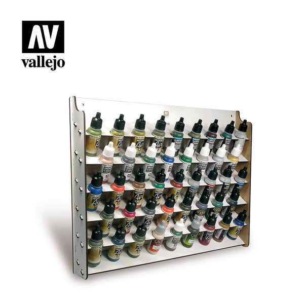 26.010  Wall Mounted Paint Display 43x17ml - Vallejo Accessories - Supernova Studio