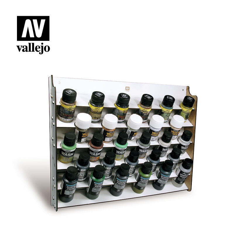 26.009  Wall Mounted Paint Display 28x35/60ml - Vallejo Accessories - Supernova Studio