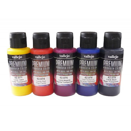 62.104 - Premium Candy Color - 5 x 60 ml