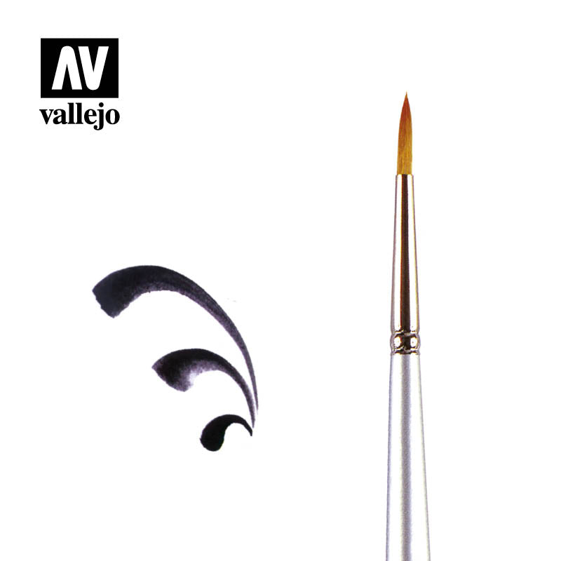 PM02006 - ROUND BRUSH NO 6 - Vallejo Paint Master