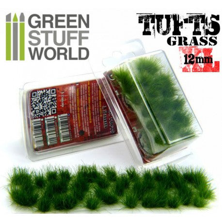 Grass Tufts 12 mm - Dark Green