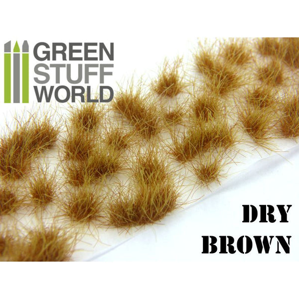 Grass Tufts 12 mm - Dry Brown