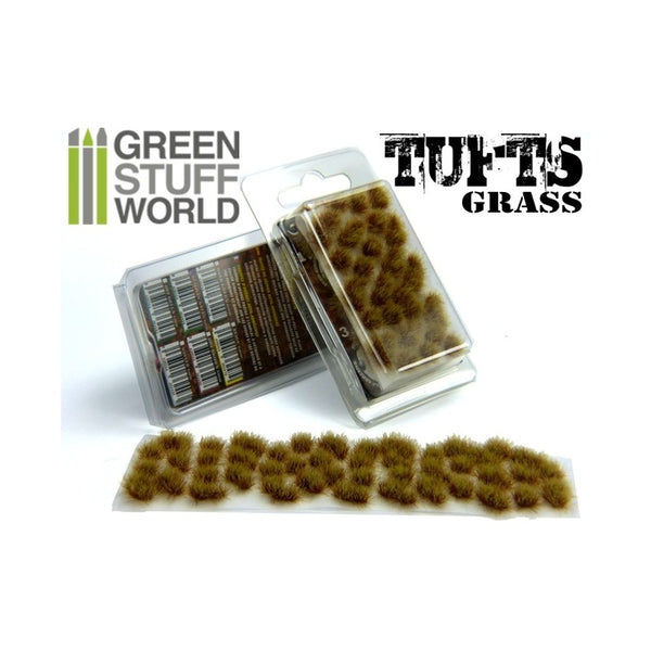 Grass Tufts 6 mm - Dry Brown