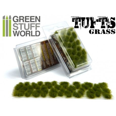 Grass Tufts 6 mm - Dry Green