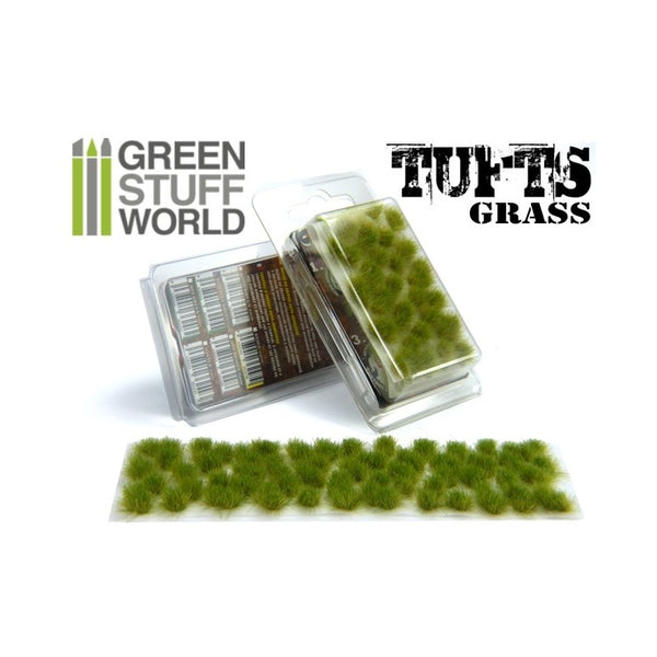 Grass Tufts 6 mm - Realistic Green