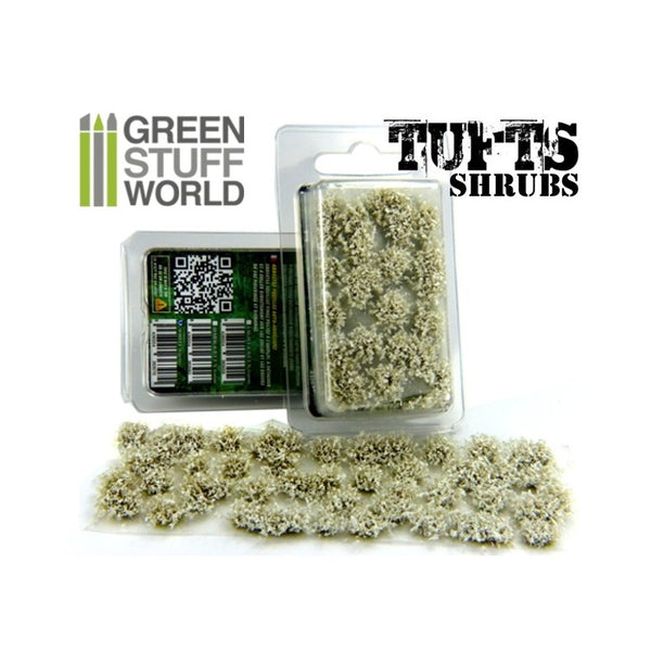 Grass Tufts 6 mm - White Green