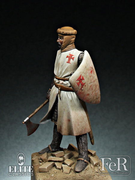 ELI00020 - Spanish Knight, 1230 (Scale 54 mm)