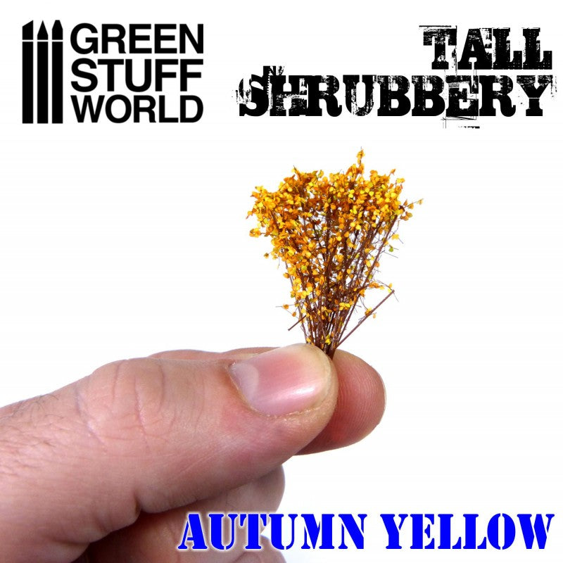 9931 - Tall Shrubbery - Autumn Yellow