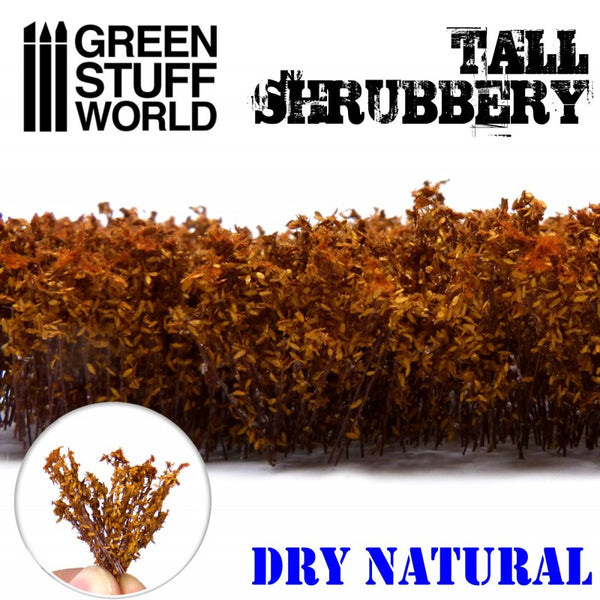 9933 - Tall Shrubbery - Dry Natural