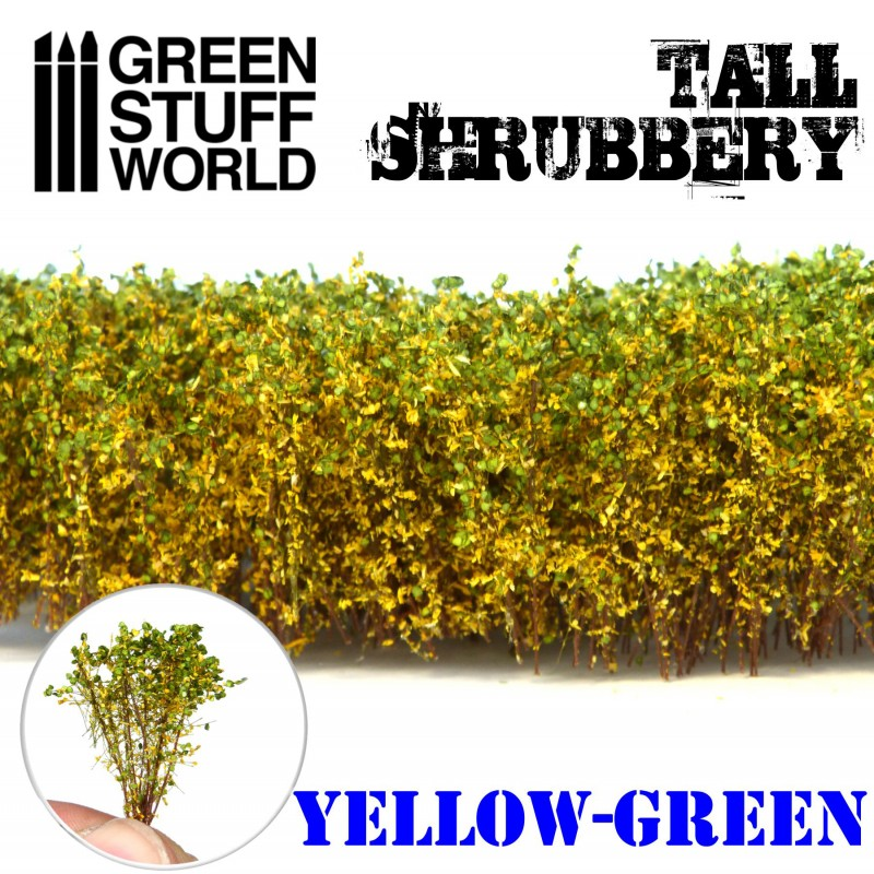 9926 - Tall Shrubbery - Yellow Green