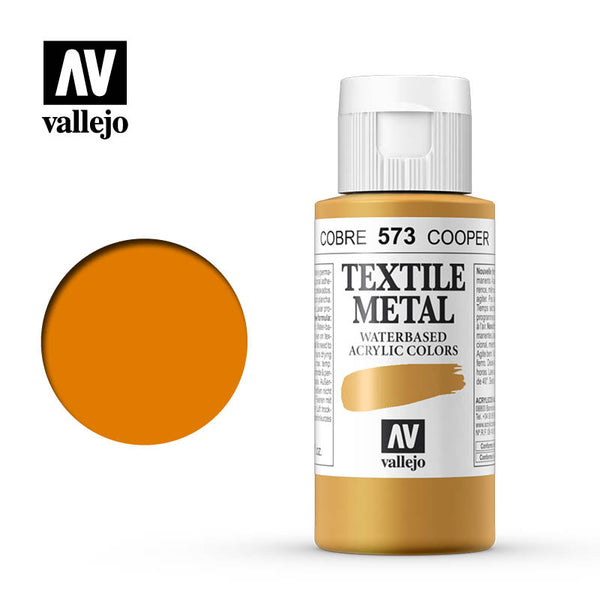 40.573 - Copper - Metallic - Textile Color - 60 ml