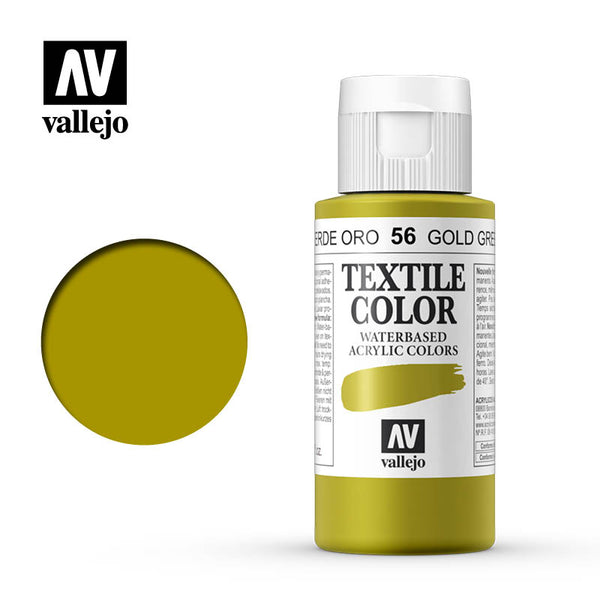 40.056 - Gold Green - Opaque - Textile Color - 60 ml