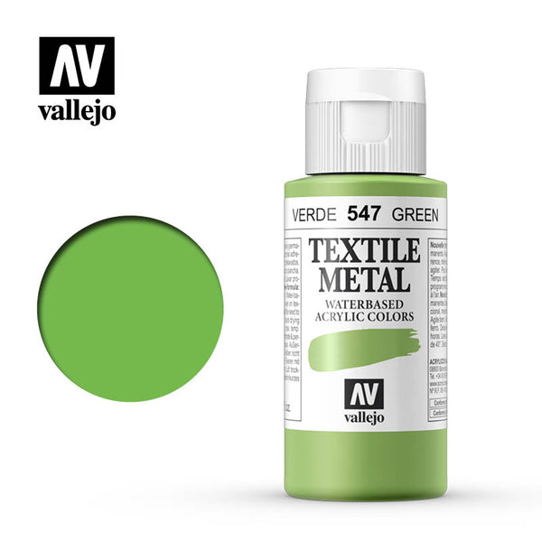 40.547 - Viridian - Metallic - Textile Color - 60 ml