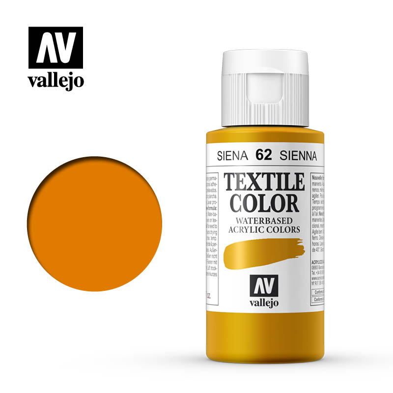 40.062 - Sienna - Opaque - Textile Color - 60 ml